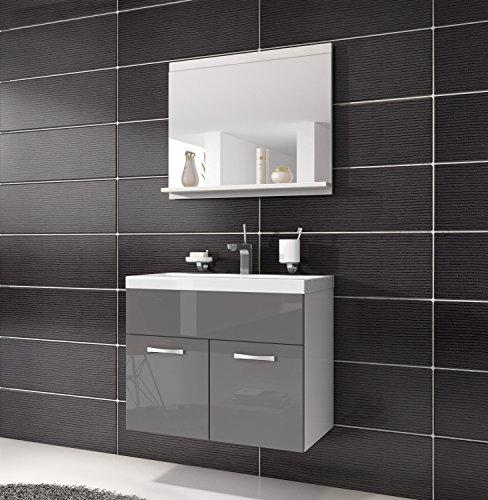 unterschrank waschtisch spiegel m bel badezimmer badm bel montreal 02 60cm waschbecken. Black Bedroom Furniture Sets. Home Design Ideas