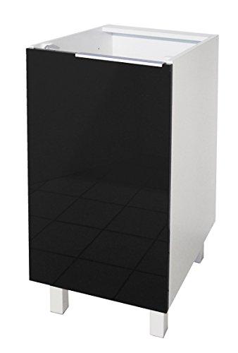 Berlenus CP6BN Küchenschrank, niedrig, 60 cm, 1 Tür ...