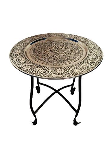 marokkanischer tisch beistelltisch aus metall sule 40cm. Black Bedroom Furniture Sets. Home Design Ideas