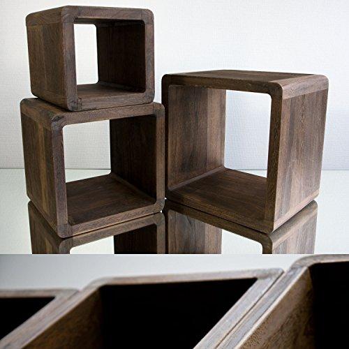 neg tisch set vinuja dunkelbraun 3 tlg nachttisch. Black Bedroom Furniture Sets. Home Design Ideas