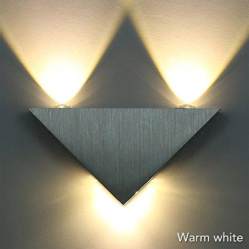 RGB LED Wandlampe Effektlicht Wandleuchte Deckenleuchte Fernbedienung Flurlampe