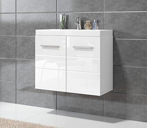 unterschrank schrank waschbecken waschtisch badezimmer barm bel toledo 01 60 x 35 cm hochglanz. Black Bedroom Furniture Sets. Home Design Ideas