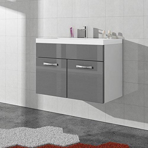 unterschrank schrank waschbecken waschtisch badezimmer badm bel paso 01 80 cm waschbecken. Black Bedroom Furniture Sets. Home Design Ideas