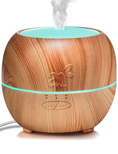artnaturals aroma diffuser f r therische le ultraschall luftbefeuchter mit lichtspiel. Black Bedroom Furniture Sets. Home Design Ideas