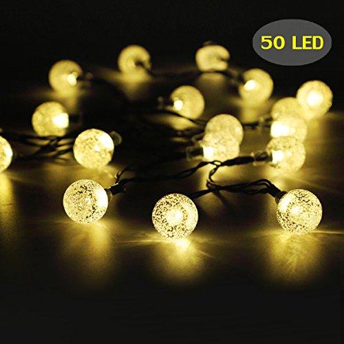 Ersatzglühbirnen Für Weihnachtsbeleuchtung.Garten Lichterkette 7 62 M Lang G40 Von Oxyled Für Garten