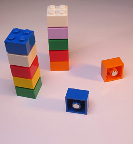 magnet bausteine f r pinnwand magnettafel oder k hlschrank lern magnete neodym magnete bunt. Black Bedroom Furniture Sets. Home Design Ideas
