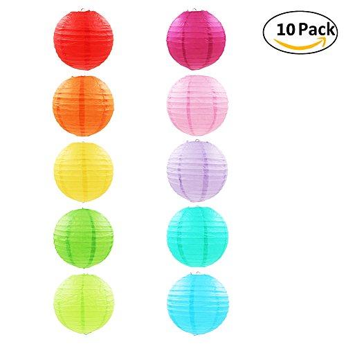 Verschiedene farben 12 zoll papierlaterne donaki 10 st ck papier lampions sch ne hochzeit - Papierlampe rund ...