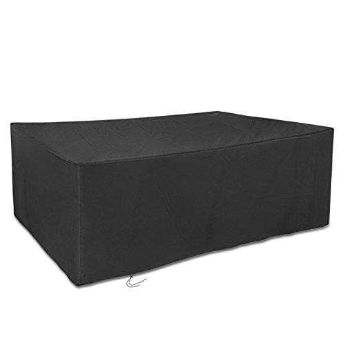 schwarz dokon abdeckung f r gartenm bel 420d oxford gewebe gro e gartenm bel schutzh lle. Black Bedroom Furniture Sets. Home Design Ideas