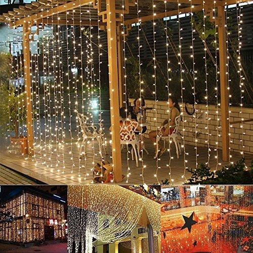Weihnachtsbeleuchtung Kugel Aussen.Le 100er Led Kugel Lichterkette 10m Warmweiss 8 Modi Mit Memory