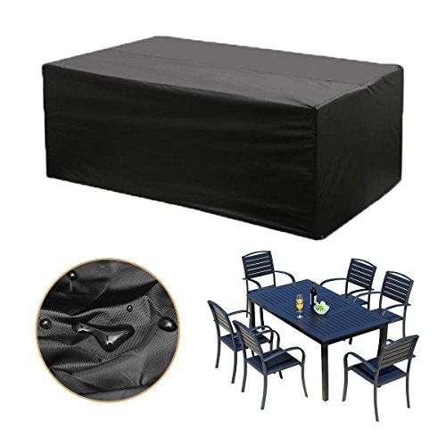 Kingso m bel wasserdicht abdeckung sofa staubdicht outdoor schutzh lle f r tisch garten - Schutzhulle gartenmobel wasserdicht ...