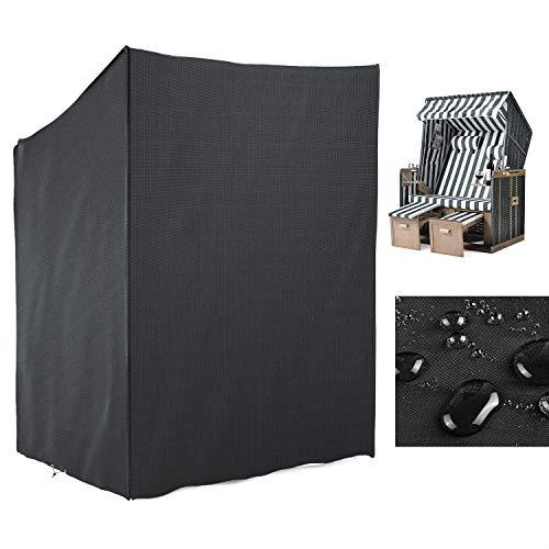 mvpower schutzh lle strandkorb abdeckung f r strandk rbe strandkorbhaube 210d oxford pvc. Black Bedroom Furniture Sets. Home Design Ideas