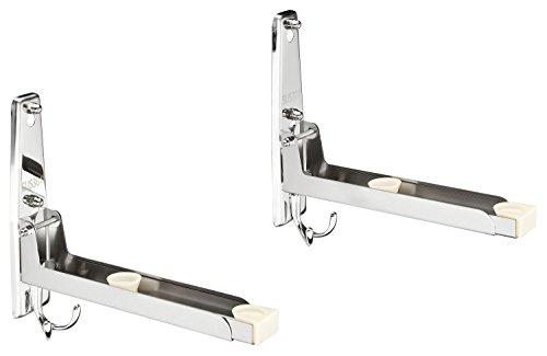 mikrowellenhalterung mikrowellenhalter wandhalter regal f r die mikrowelle mit 4 haken aus. Black Bedroom Furniture Sets. Home Design Ideas