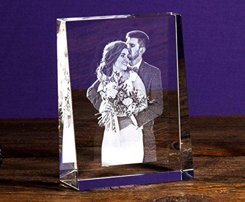 Ihr Eigenes Foto In Viamant Glas Gelasert