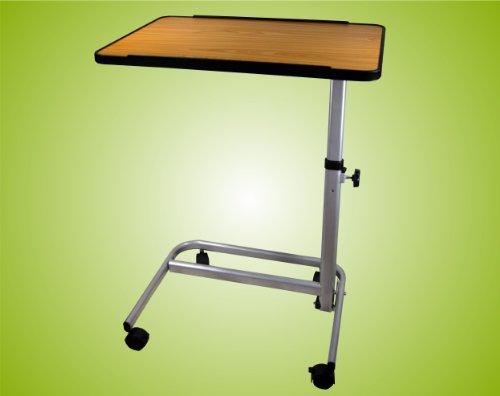 beistelltisch beistellwagen krankentisch bett tisch braun